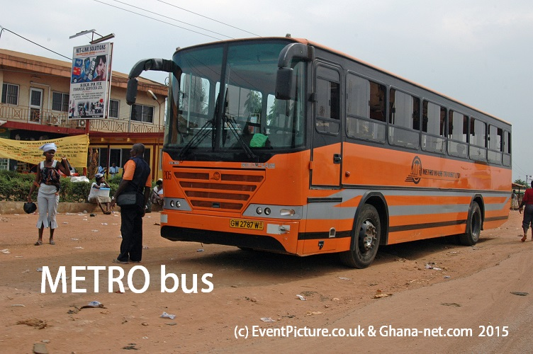 Picture of NETRO bus, Ghana