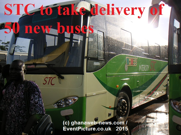 STC Ghana to take delivery of 50 new buses
