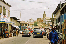 Picture of Cape Coast, Ghana, Cape Coast Ghana, street picture,