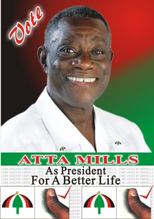 Mails to Atta Mills, late president of Ghana